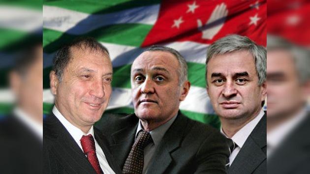 Tres candidatos se postulan oficialmente por la presidencia de Abjasia