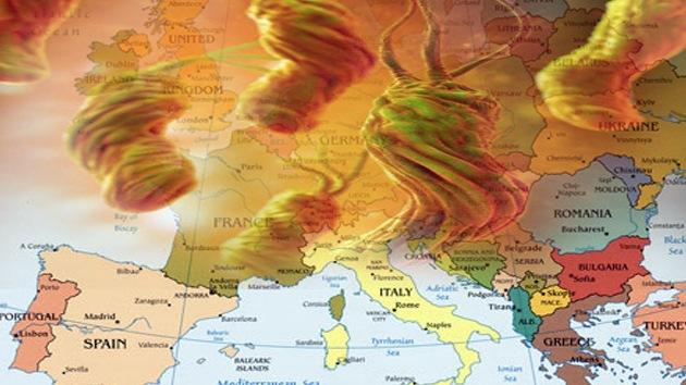 Alerta en Europa: el cambio climático provoca una 'lluvia' de bacterias peligrosas