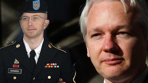 """Assange: El veredicto sobre Manning, """"ejemplo del extremismo de la Seguridad Nacional"""" de EE.UU."""