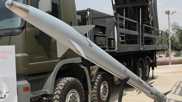 Israel prueba con éxito un nuevo interceptor de misiles