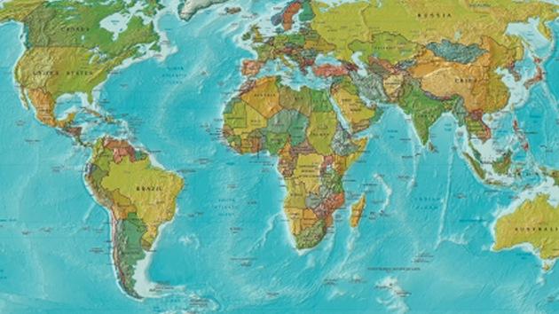 Mapamundi muestra cuáles son las mayores preocupaciones de la población