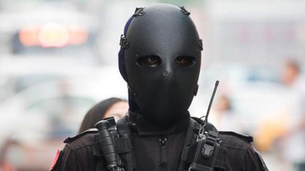 'Robocop': La Policía de Taiwán adopta un aspecto 'terrorífico'