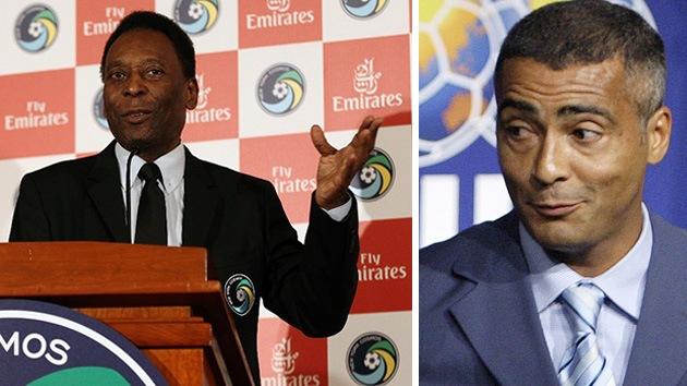 Polémica 'Mundial': Pelé pide abandonar las protestas y Romário lo manda a callar