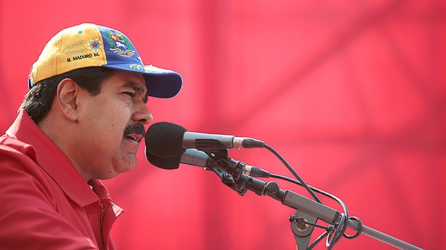"""Maduro: """"EE.UU. tiene una obsesión por meterse con el Gobierno de Venezuela"""""""