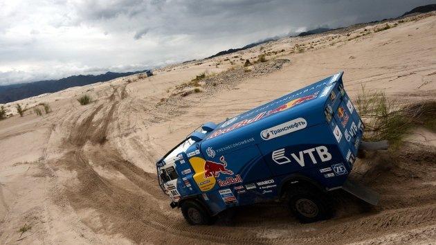 Dakar 2013: El Kamaz ocupa los tres primeros lugares en la general de camiones