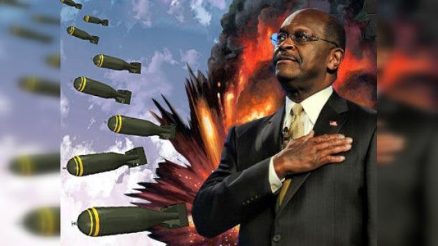 """El republicano Cain se apunta al bombardeo de Irán """"si Israel tiene un plan creíble"""""""