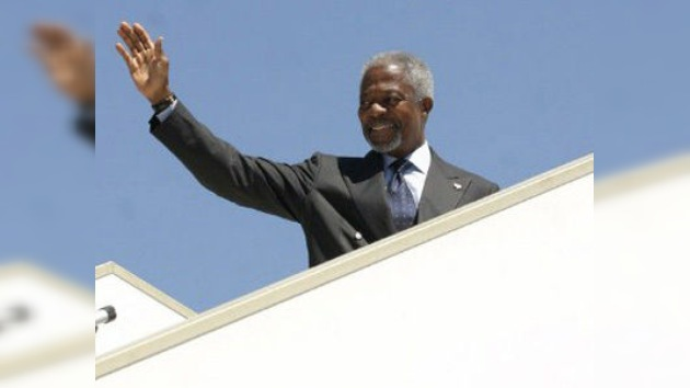 Siria acepta el 10 de abril como fecha límite para cumplir con el plan de Annan