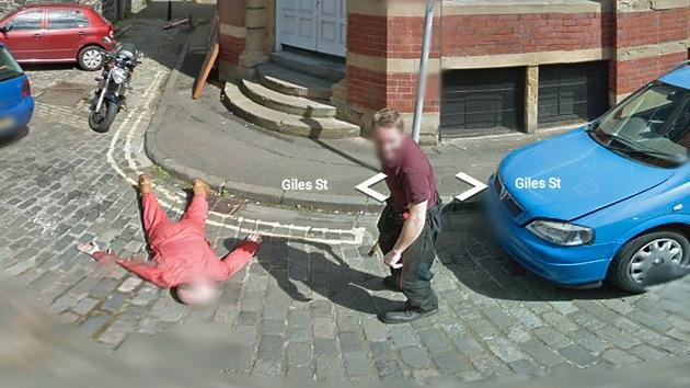 Escocia: La Policía resuelve el 'asesinato' perpetrado ante una cámara de Google Street View
