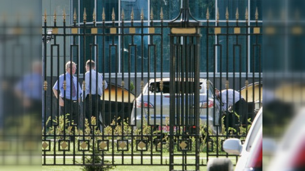 Atacan la Embajada rusa en Bielorrusia