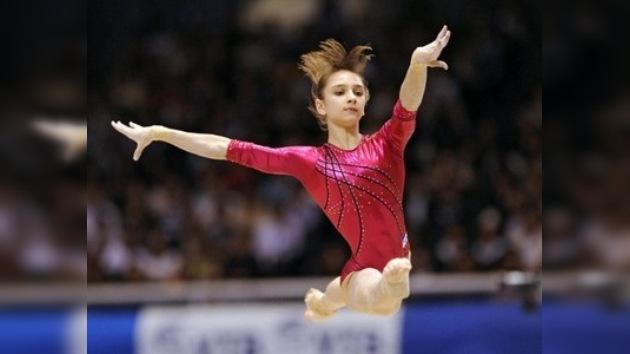 Medalla de plata en el Mundial de Gimnasia Artística para la líder del equipo ruso