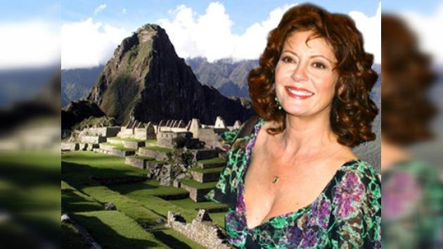 Susan Sarandon promociona el turismo en Perú