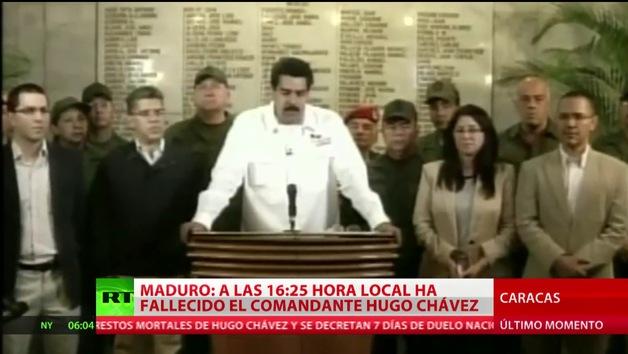 Venezuela decreta un luto oficial de siete días por la muerte de Chávez