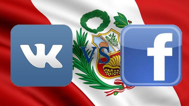 La red social rusa Vkontakte pretende destronar a Facebook en Perú