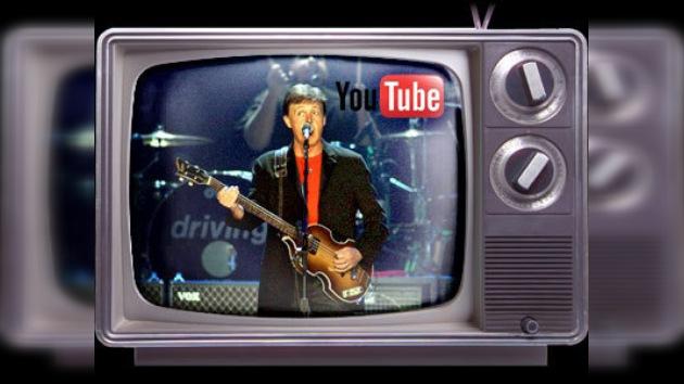El concierto de Paul McCartney en Londres será retransmitido por YouTube