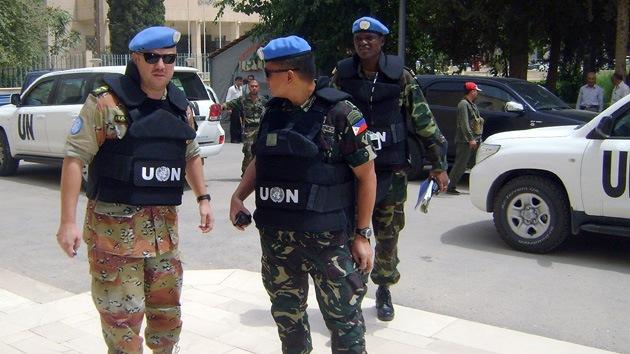 EE.UU. insiste en cerrar la misión de observadores de la ONU en Siria