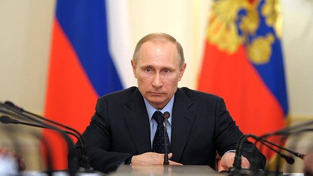 Putin: Rusia respetará la elección del pueblo de Crimea
