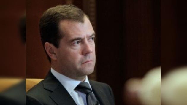 Medvédev ordena juzgar a todos los vinculados con el naufragio del 'Bulgaria'