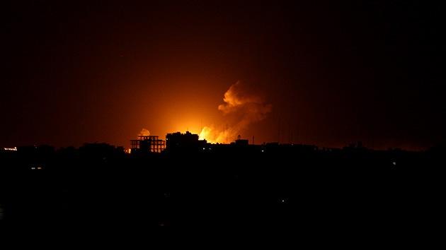 Israel perpetra una serie de ataques áereos contra Gaza