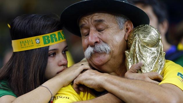 Fotos, video: Derrota de Brasil, ¿peor que el Maracanazo?