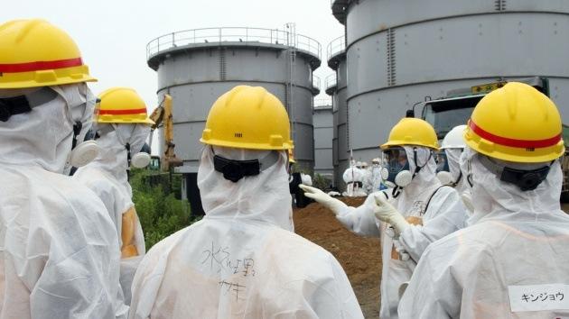 Seis trabajadores de Fukushima se exponen por error a radiactividad