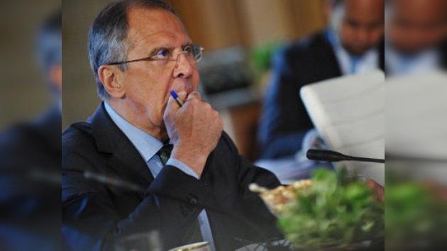 Lavrov: Rusia espera que el plan de paz de Annan para Siria tenga éxito