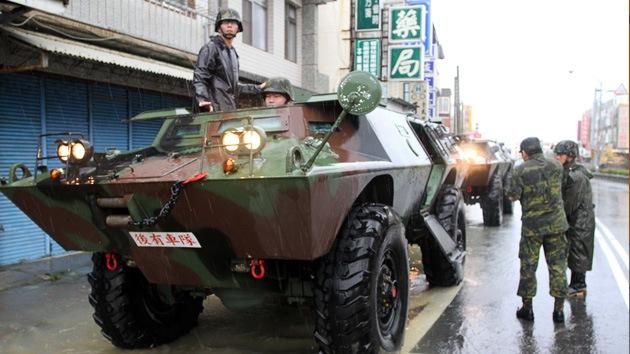 Taiwán apuntará sus misiles contra China