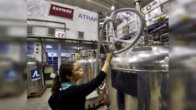 La antimateria ya está en el bote