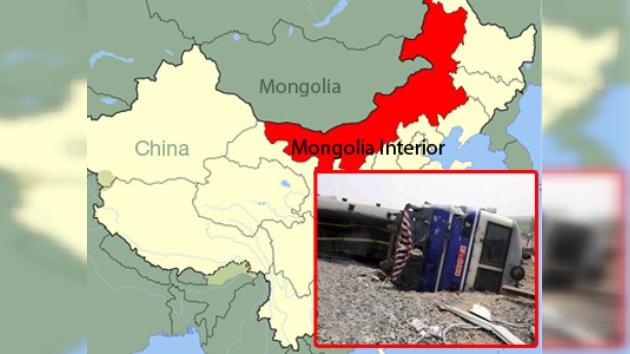 Un tren descarrilado se cobró 11 vidas en el norte de China