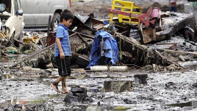 México declara alerta amarilla en dos estados por la tormenta 'Ernesto'