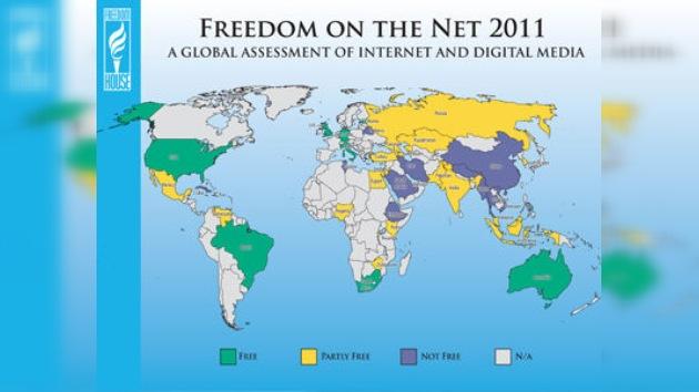 Irán y Birmania son los más represivos en Internet