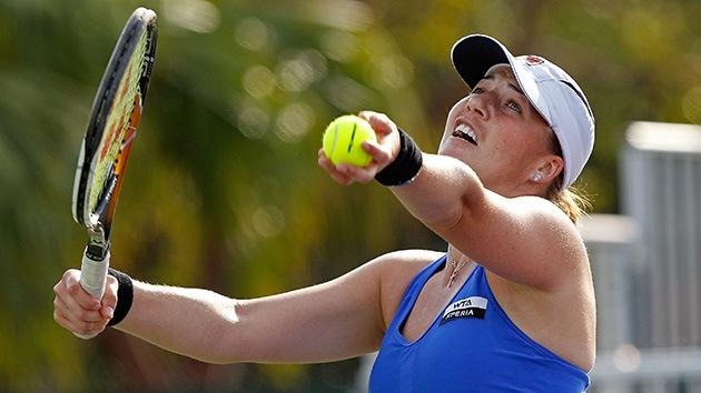 Una tenista rusa gana su primer torneo tras vencer al cáncer