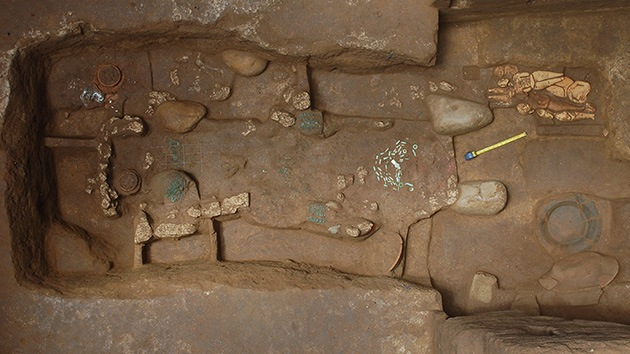 Fotos: Descubren en Guatemala la tumba real maya más antigua