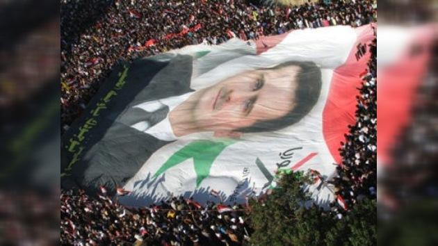 La guerra civil en Siria está siendo atizada desde fuera