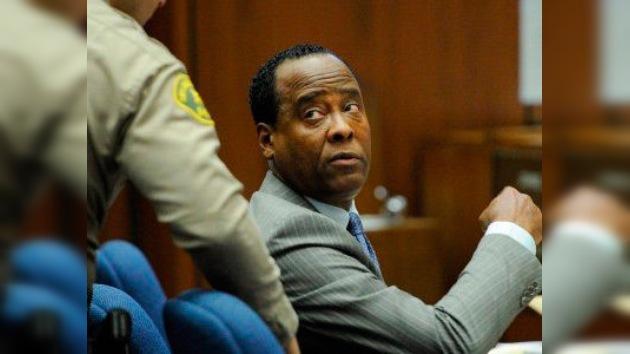 El médico de Michael Jackson, culpable de homicidio involuntario