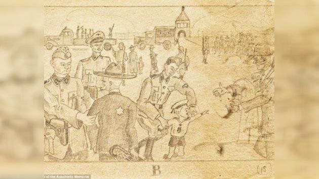 Auschwitz: dibujos de un prisionero dan cuenta del horror