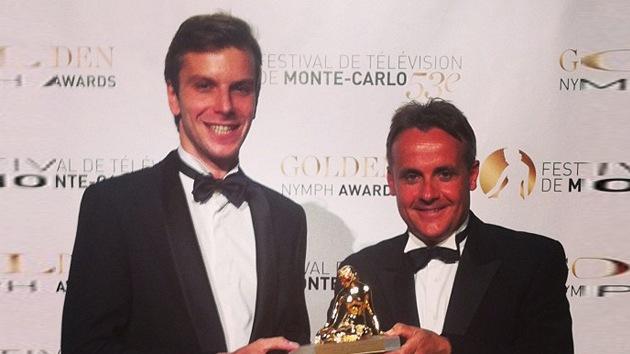 El trabajo de RT se lleva el máximo galardón del Festival de Televisión de Montecarlo