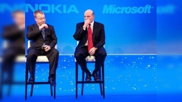 Microsoft y Nokia se alían para competir en el mercado de los celulares