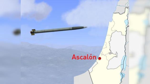 Una ciudad israelí, atacada con un misil desde la Franja de Gaza