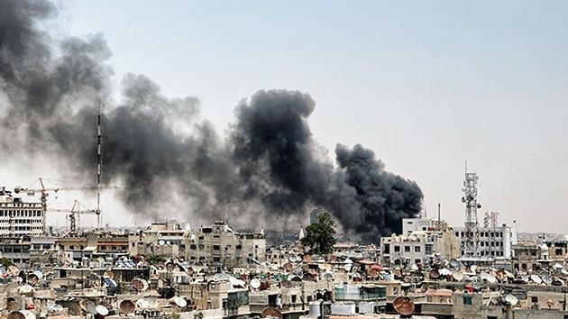 Una bomba explosiona en Damasco