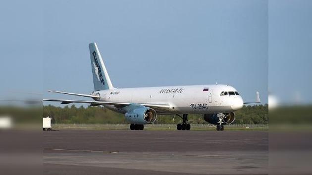 Aterrizaje forzoso a un kilómetro del aeropuerto de Moscú