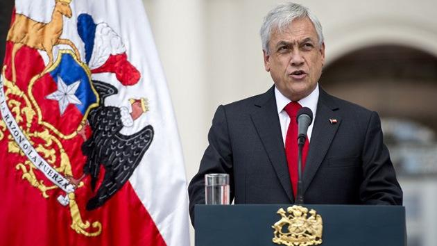 """Sebastián Piñera: """"El presidente Morales ha perdido el respeto por la verdad"""""""