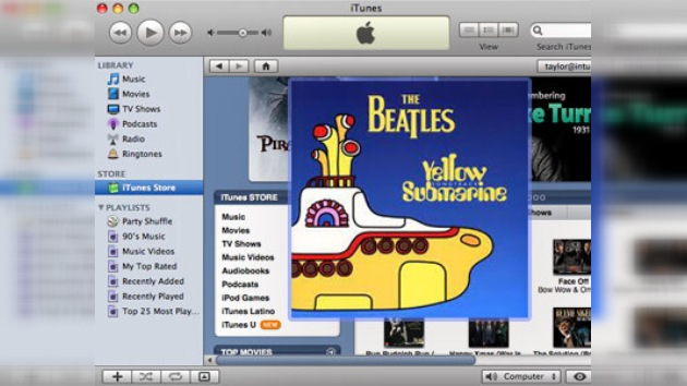 Apple comercializará toda la música de The Beatles