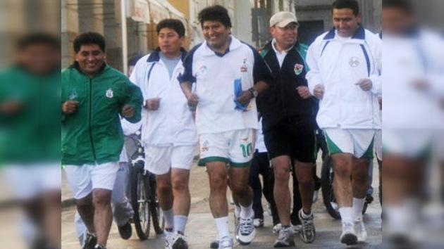 Bolivia estrena el 'Día del peatón'