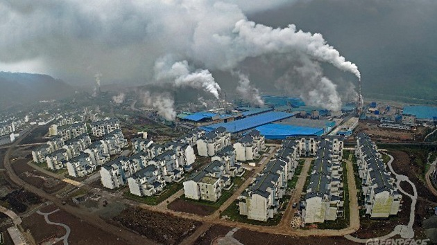 La contaminación medioambiental crea 'ciudades fantasma' en China