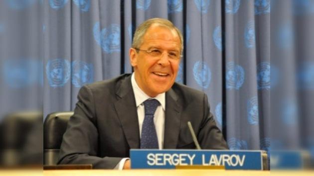 Lavrov exhorta ante la ONU acabar con la práctica de sanciones unilaterales