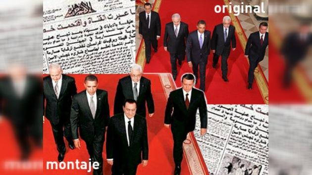 Mubarak sustituye a Obama: escandaloso montaje de un periódico egipcio
