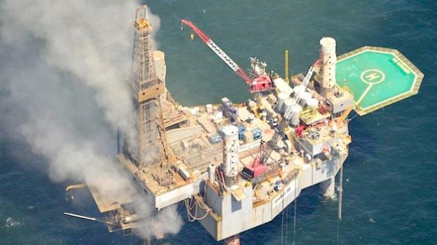 Se desata un incendio en una plataforma de gas en el golfo de México