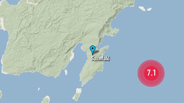 Un terremoto de 7,1 grados de magnitud sacude el noroeste de Indonesia
