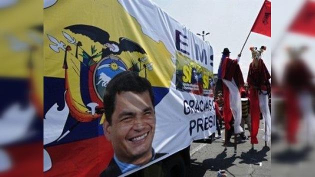 Finaliza la campaña electoral con miras al referendo en Ecuador