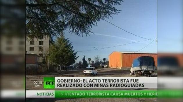 Tres personas muertas en una explosión en Abjasia